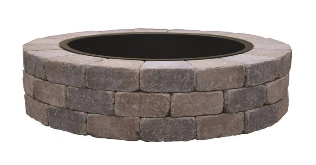 Sunset Round Firepit Kit by Unilock - Landscape Depot